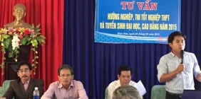 Tư vấn thi THPT Quốc gia, tuyển sinh ĐH-CĐ năm 2015